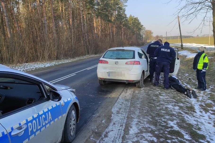 policyjny pościg Brodnica