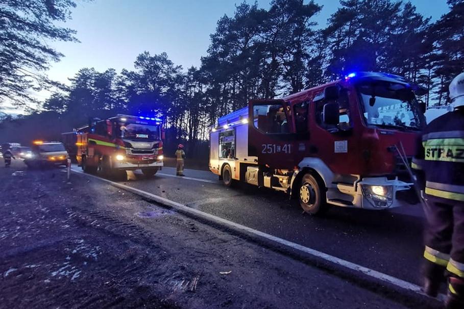 wypadek dk10 emilianowo