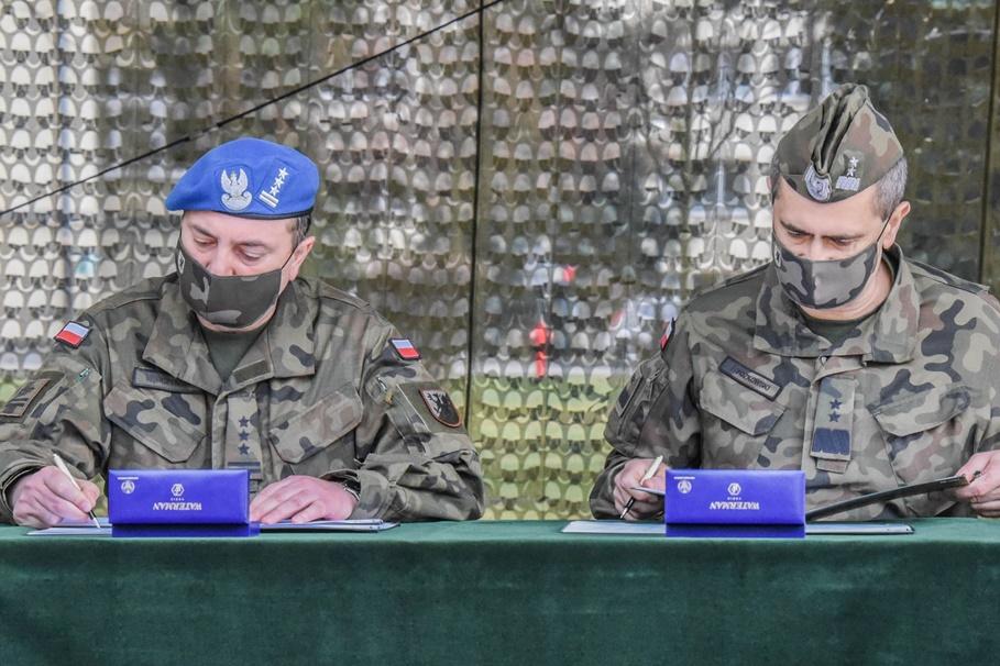 gen. dyw. Dariusz Ryczkowski, płk Artur Kępczyński