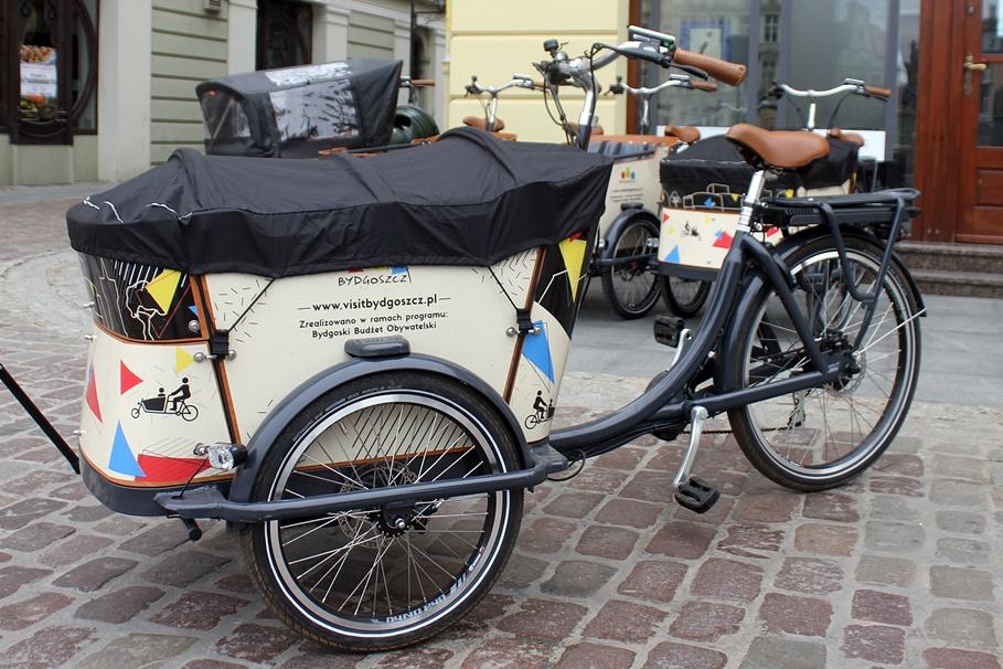 rowery cargo Bydgoszcz