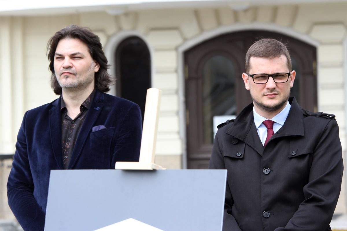 Marek Iwiński, Michał Sztybel