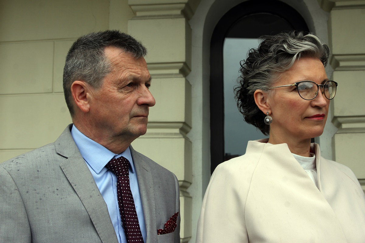 Grażyna Szabelska, Jerzy Mickuś
