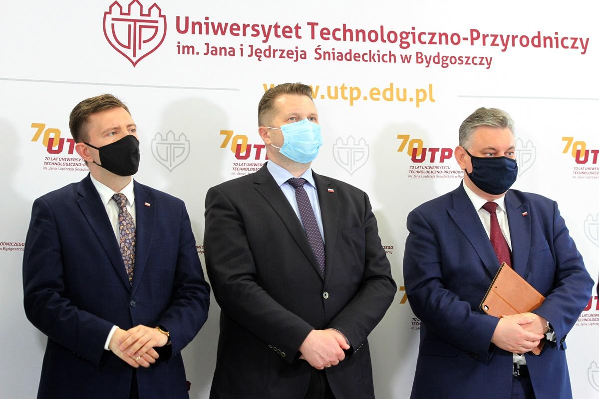 Łukasz Schreiber, Przemysław Czarnek, Piotr Król