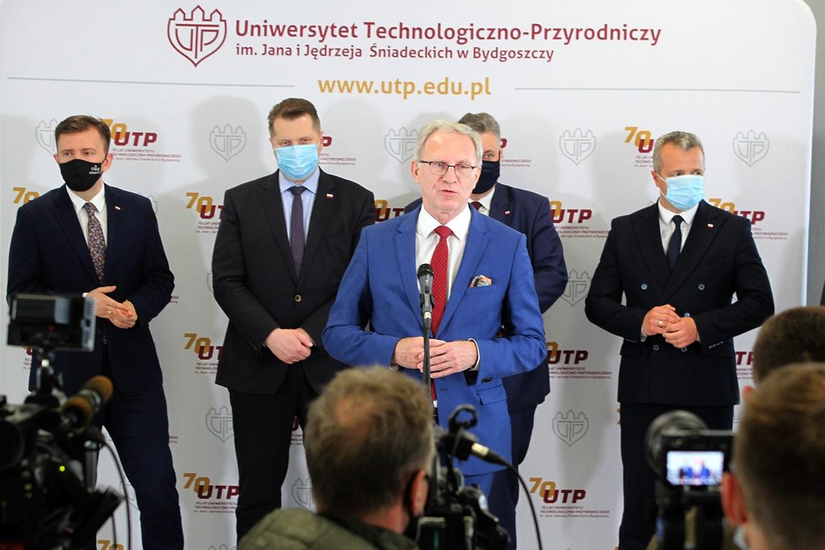 Tomasz Latos, Łukasz Schreiber, Przemysław Czarnek, Piotr Król, Mikołaj Bogdanowicz