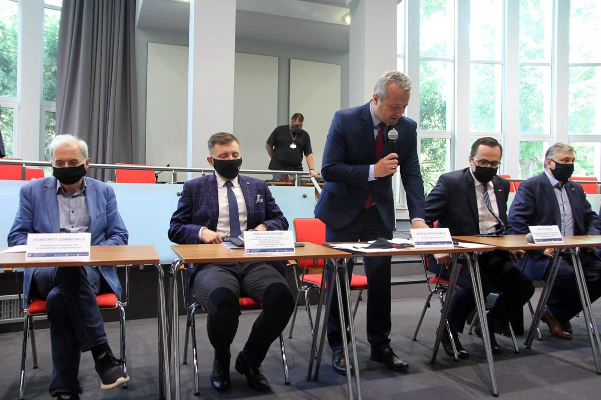 Konstanty Dombrowicz, Łukasz Schreiber, Mikołaj Bogdanowicz, Marcin Horała, Piotr Król