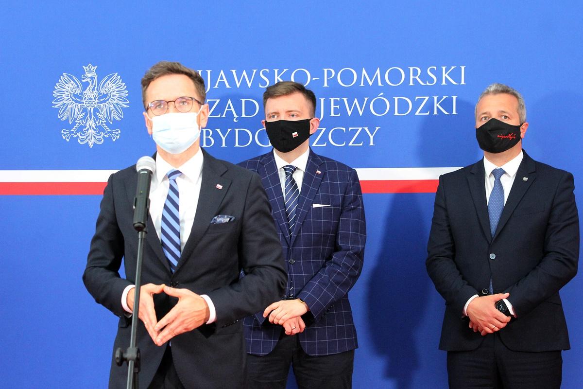 Waldemar Buda, Łukasz Schreiber, Mikołaj Bogdanowicz