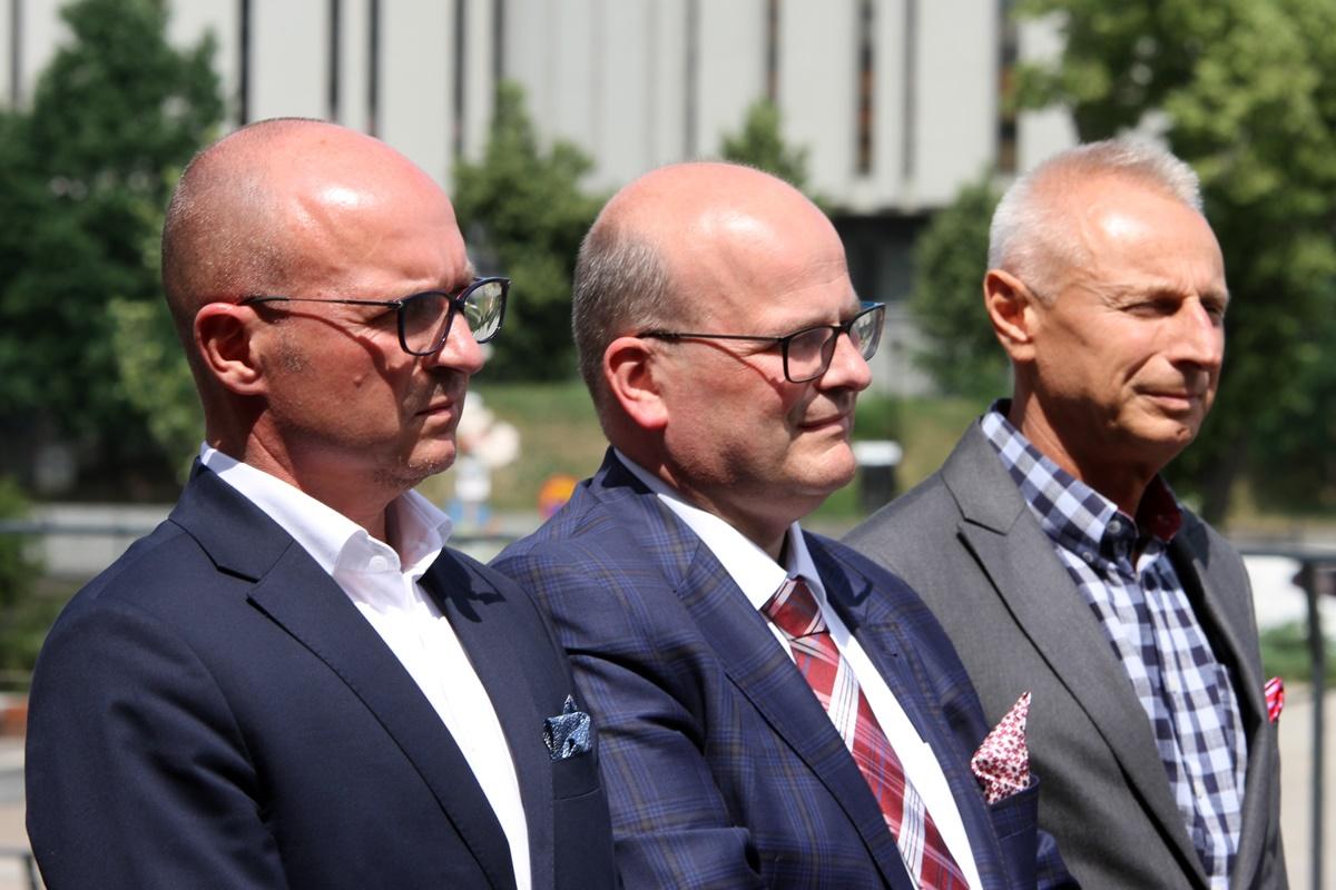 Marek Wojtkowski, Maciej Glamowski, Ryszard Brejza