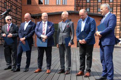 Rafał Bruski, Piotr Całbecki, Ryszard Brejza, Maciej Glamowski, Marek Wojtkowski, Zbigniew Fiderewicz