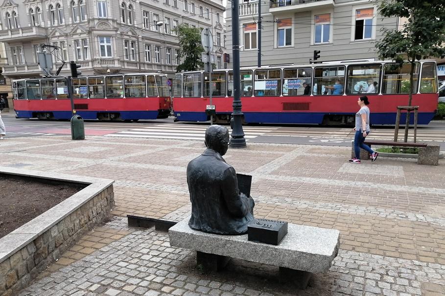 Ławeczka Mariana Rejewskiego Bydgoszcz