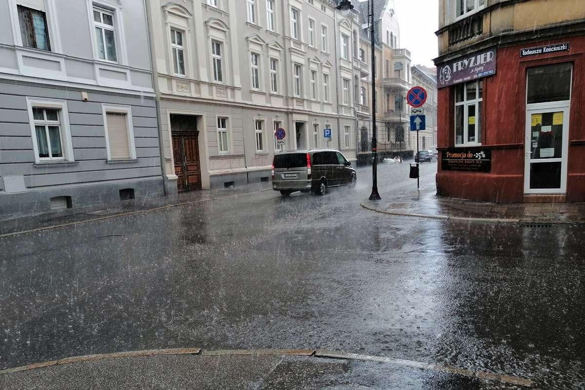 opady deszczu Bydgoszcz
