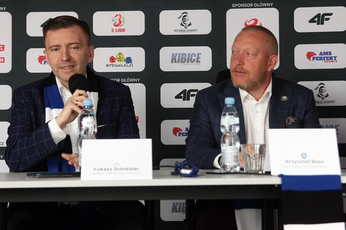 Krzysztof Bess, Łukasz Schreiber