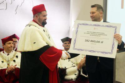 prof. Marek Adamski, Przemysław Czarnek