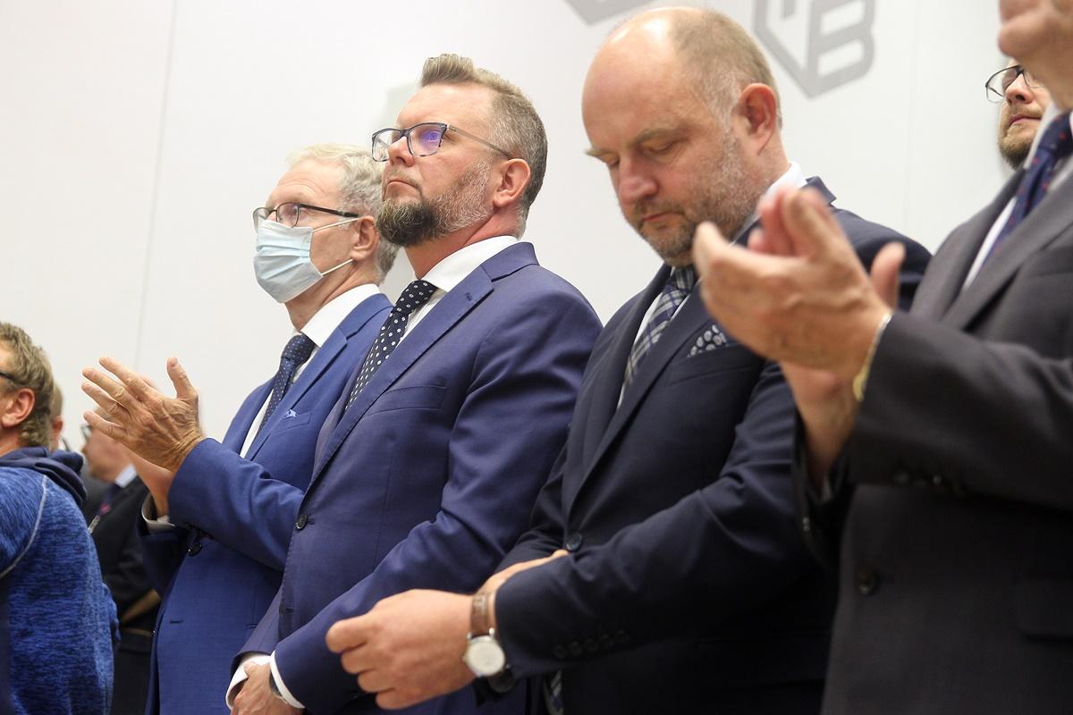 Tomasz Latos, Mirosław Kozłowicz, Piotr Całbecki