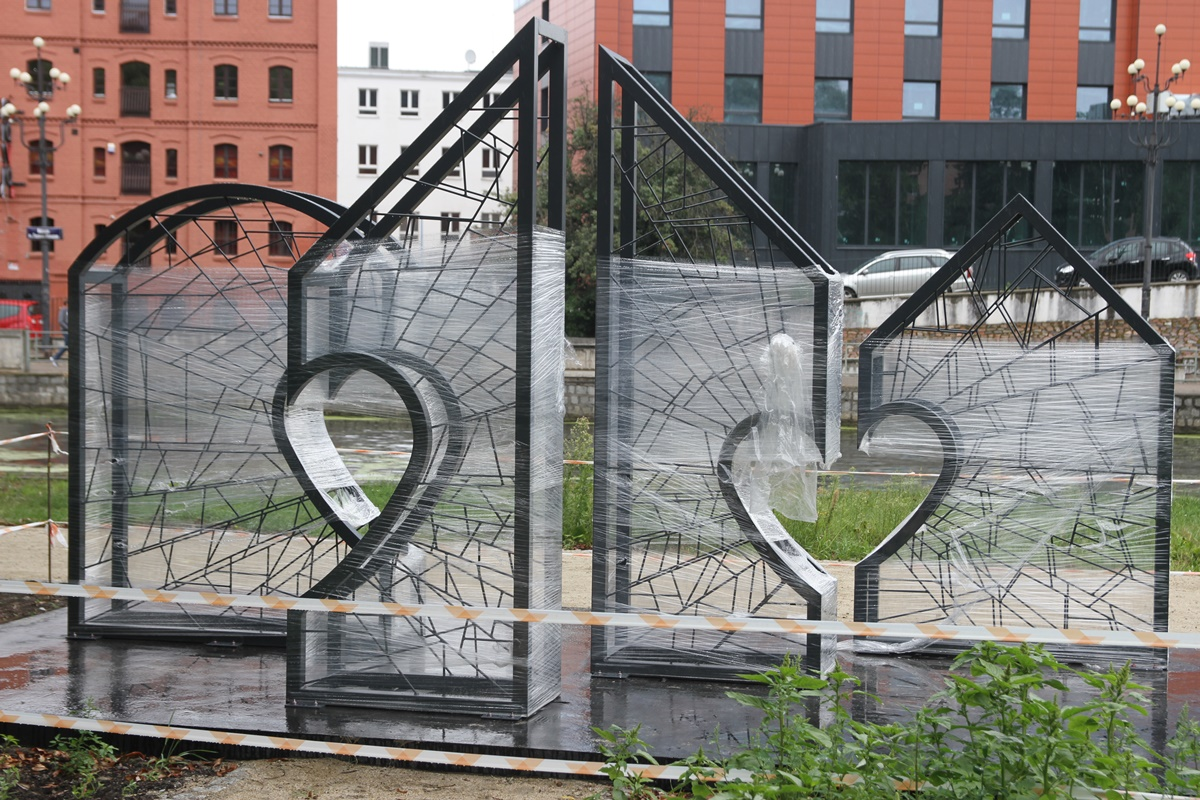 Kłódka dla zakochanych Bydgoszcz
