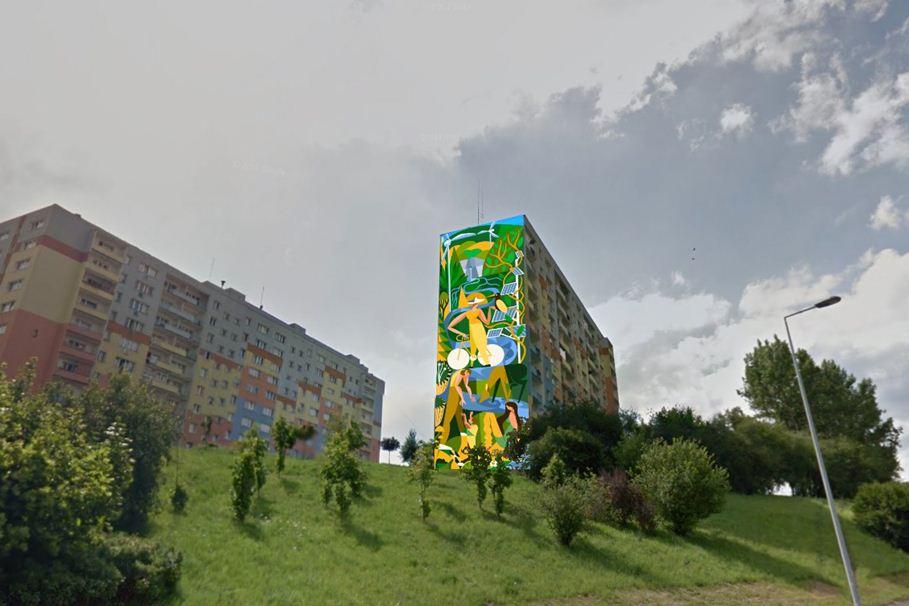mural wyżyny bydgoszcz
