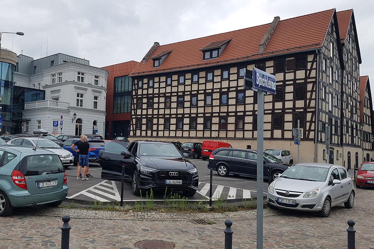 parking Rybi Rynek Bydgoszcz