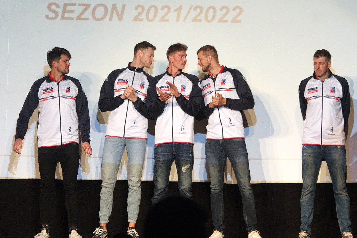 Wojciech Kaźmierczak, Mariusz Marcyniak, Igor Yudin, Mateusz Kowalski, Łukasz Sternik