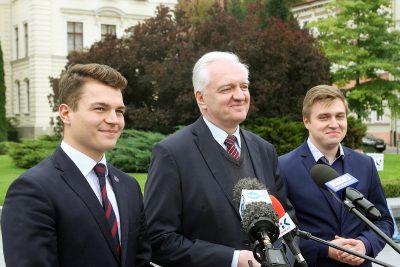 Dobromir Szymański, Jarosław Gowin, Jakub Masiakowski