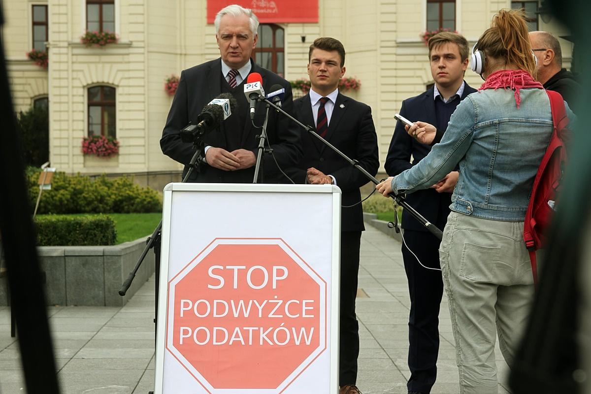 Jarosław Gowin, Dobromir Szymański, Jakub Masiakowski