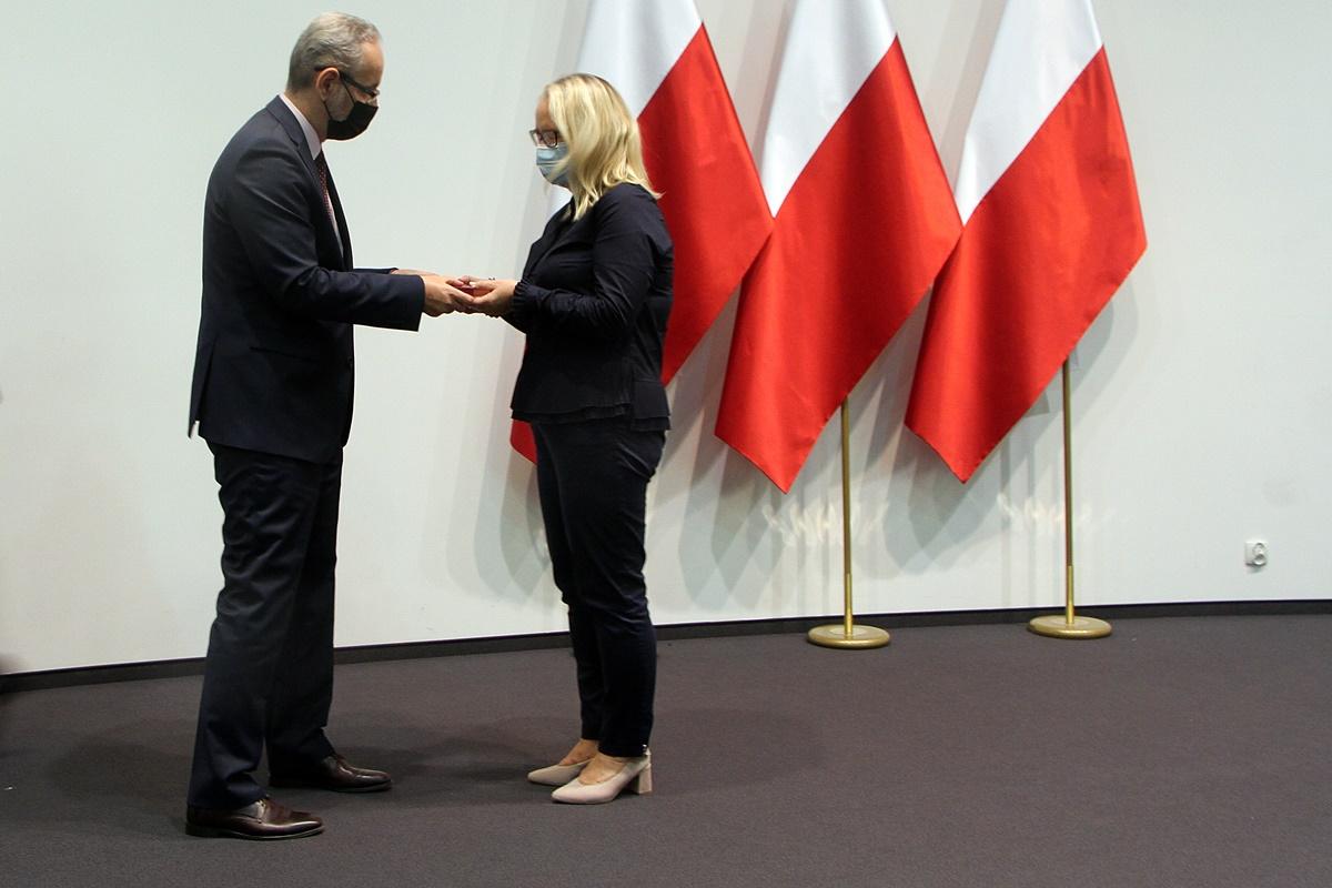 Adam Niedzielski, Ewa Szymkiewicz