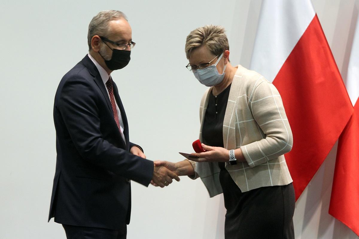 Adam Niedzielski, Katarzyna Cierzniakowska