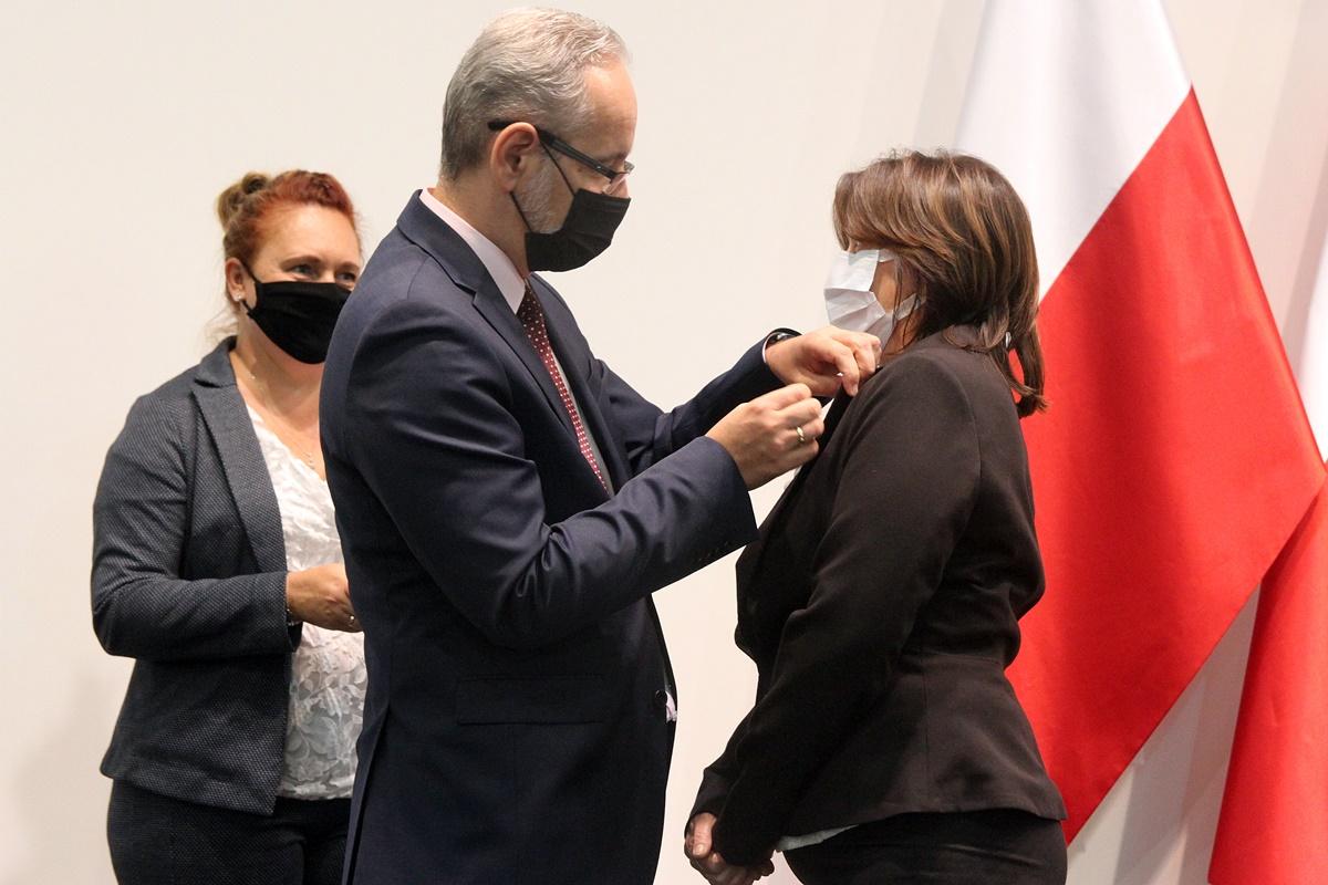 Adam Niedzielski, Małgorzata Przemocka