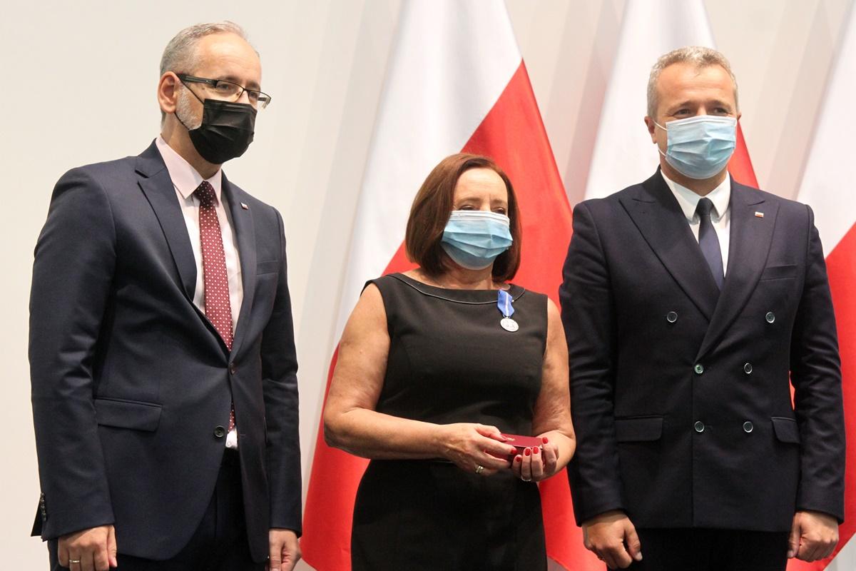 Wanda Korzycka-Wilińska, Adam Niedzielski, Mikołaj Bogdanowicz