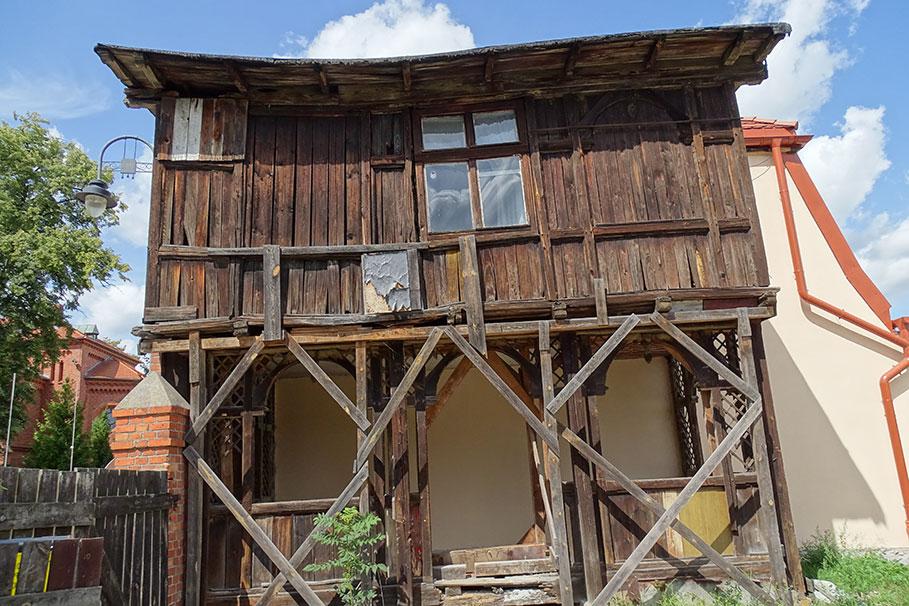 drewniana weranda Stary Fordon