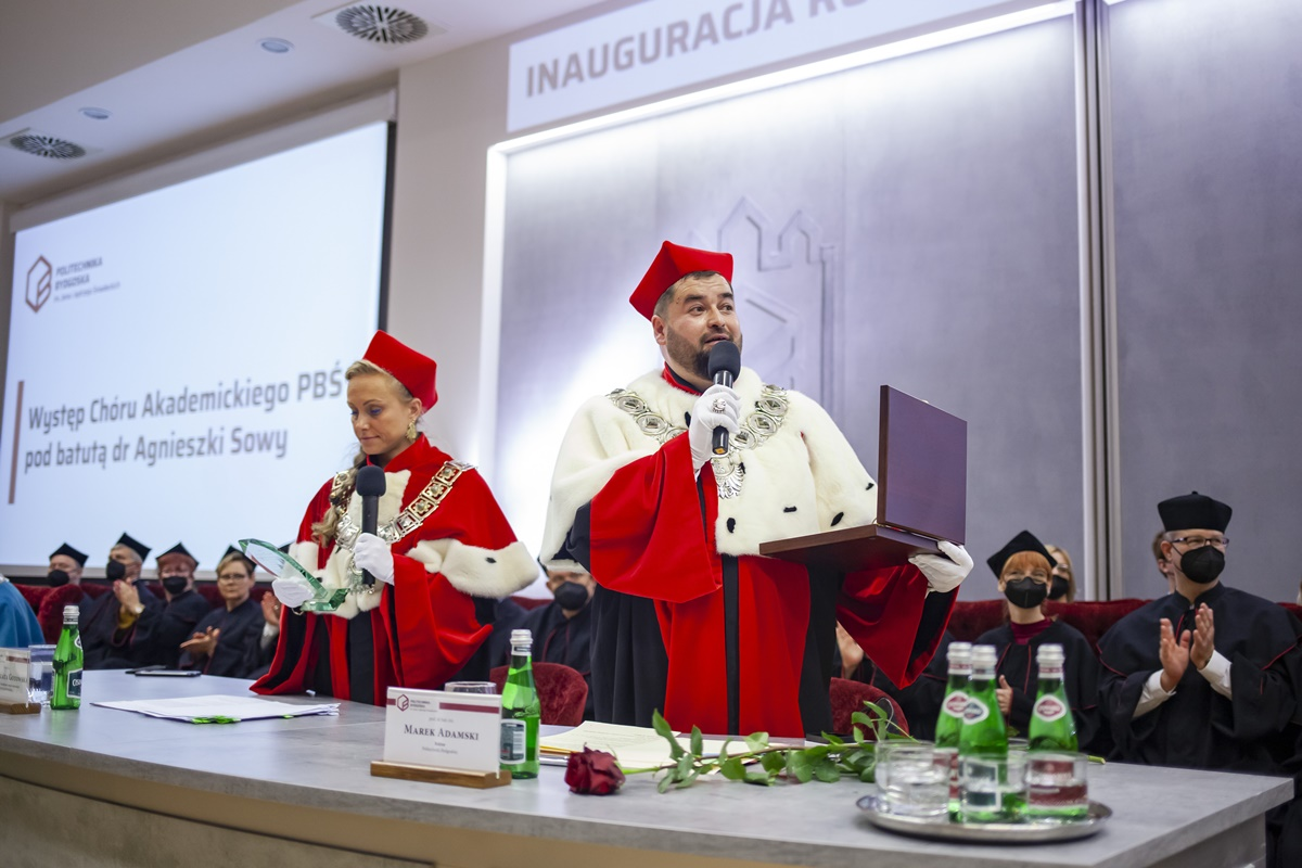 prof. Marek Adamski, prof. Małgorzata Gotowska
