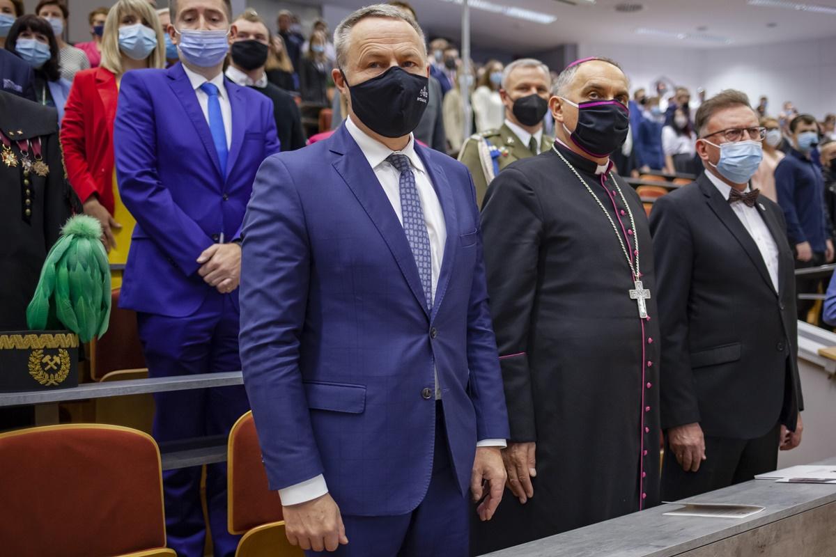 Rafał Bruski, bp Krzysztof Włodarczyk, Zbigniew Ostrowski