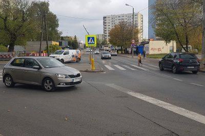 skrzyżowanie Brzozowa Bielicka Inowrocławska Bydgoszcz