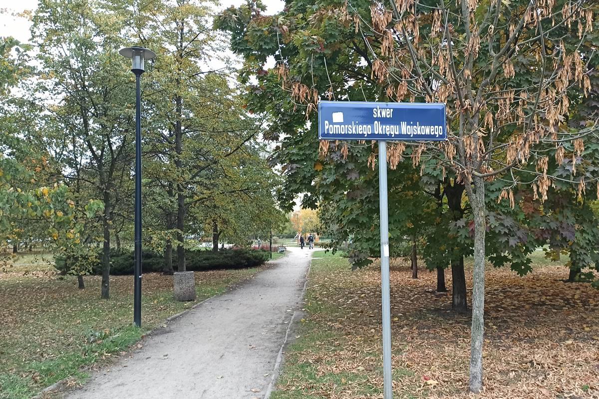 Skwer Pomorskiego Okręgu Wojskowego Bydgoszcz